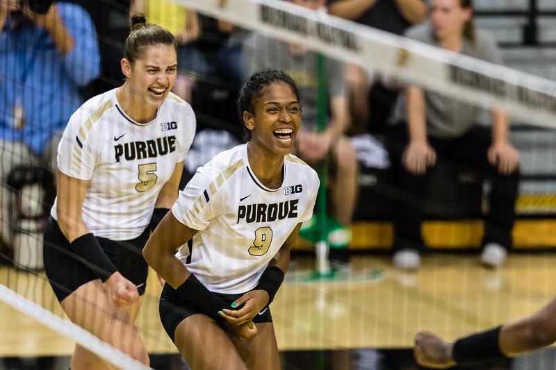 Purdue Volleyball vs Northwestern