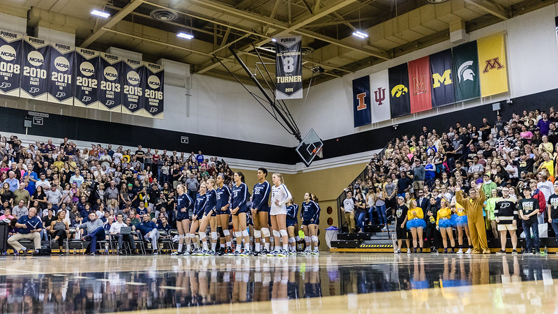 Purdue Volleyball vs Penn State