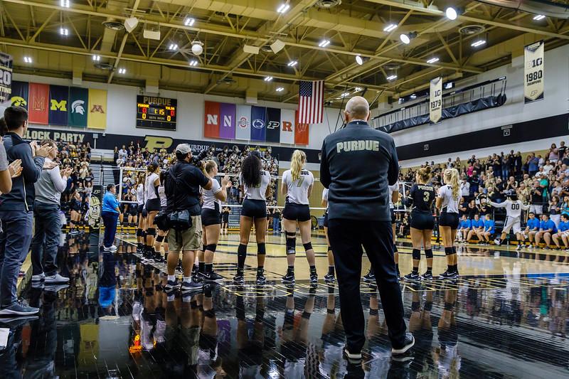 Purdue Volleyball vs Tulsa