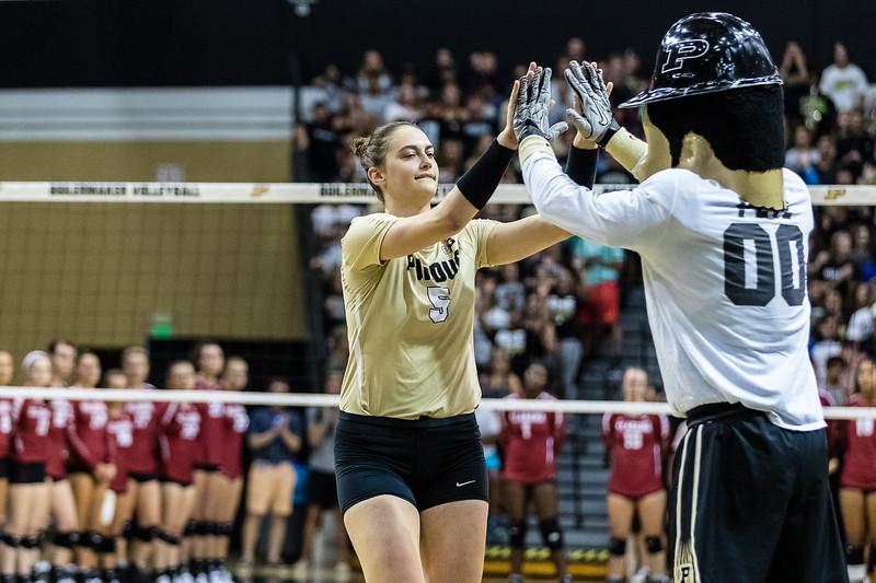 Purdue Volleyball vs U.Alabama