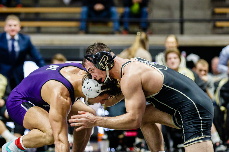 Purdue Wrestling vs Northwestern