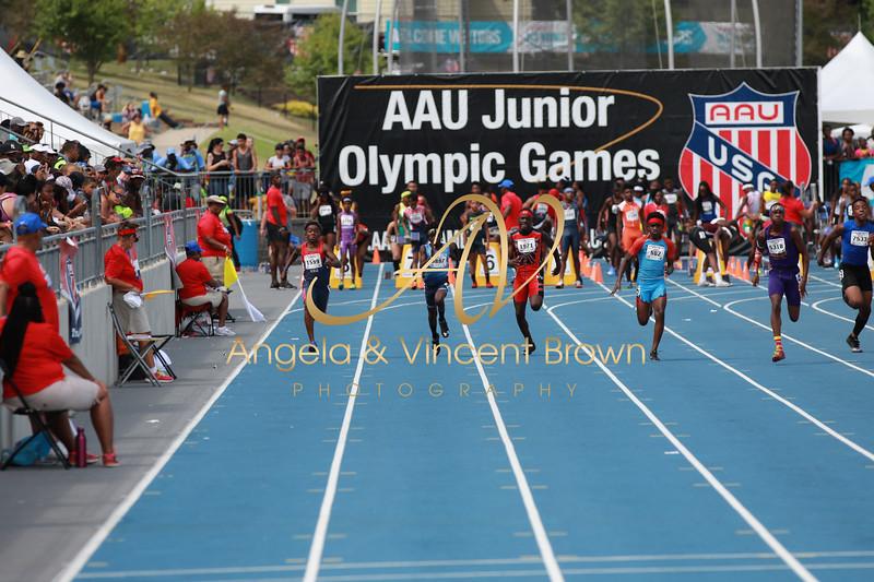 2018 0801 AAUJrOlympics 100m CLS_017