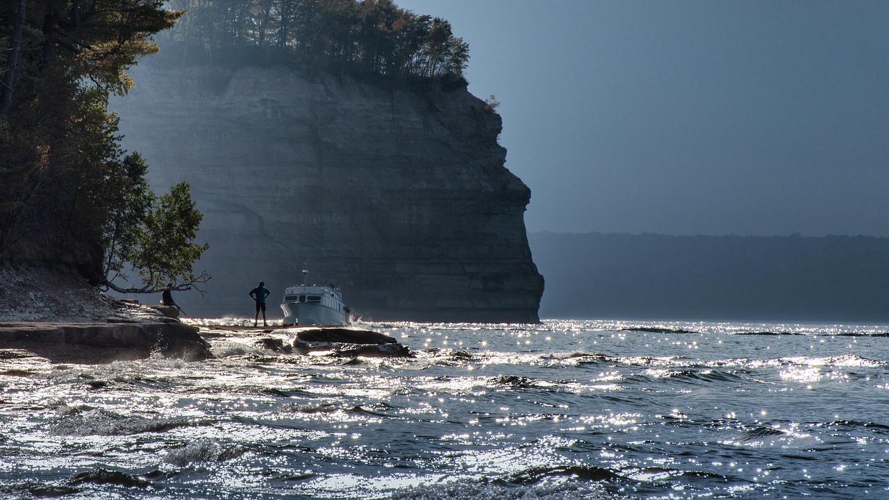 Mosquito Beach Pictured Rocks Nat'l Shoreline UP Michigan