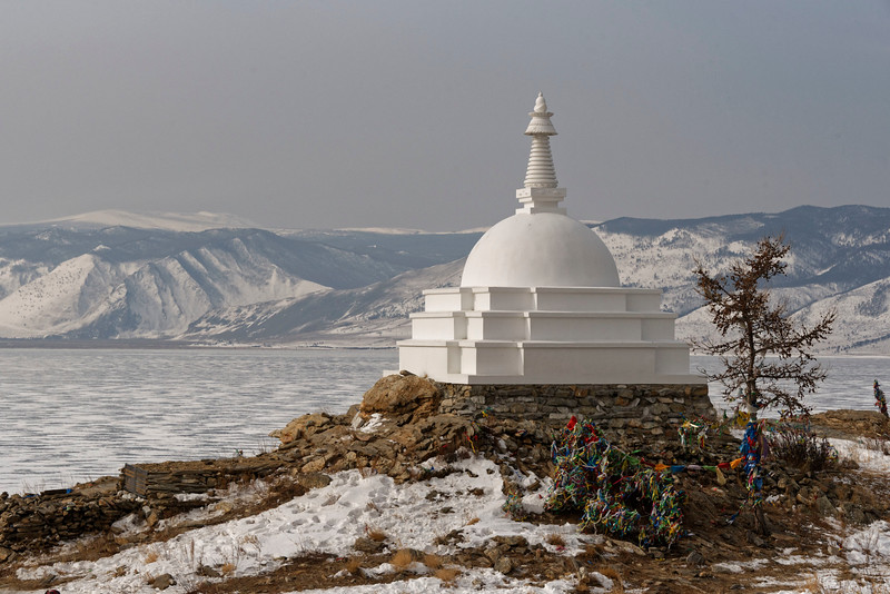 Ogoy Buddhist Temple, Lake Baikal