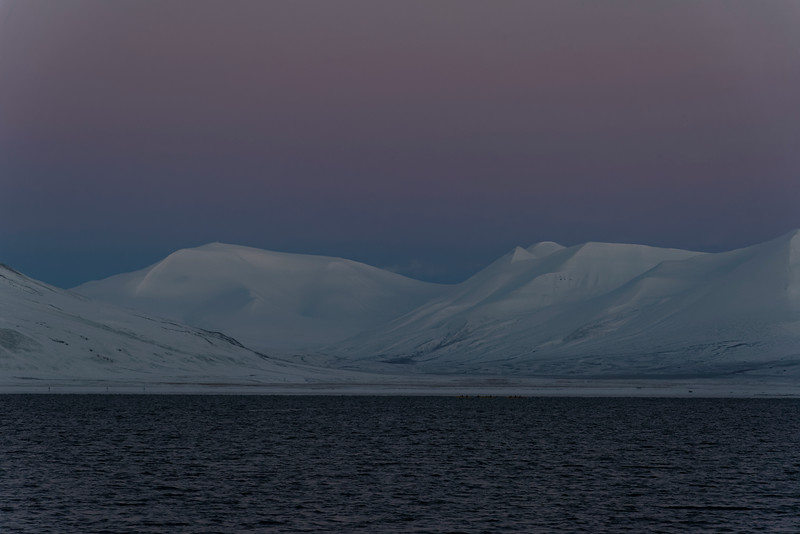 Artic night, Svalbard