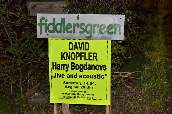 "David Knopfler and Harry Bogdanovs life at Fiddlersgreen - ""the smallest and most desolate stage they ever played on"""