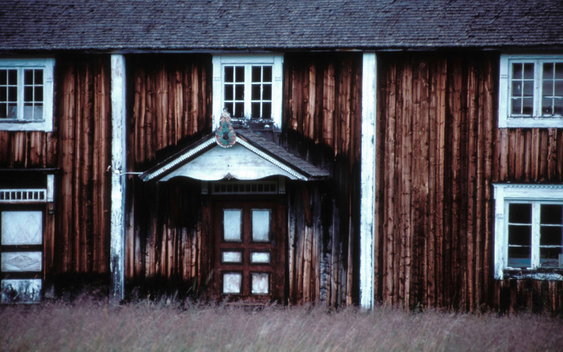 Old farmhouse, Ljungdalen, Sweden