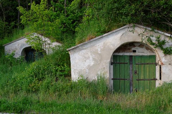 Vineyard cellars, Retz, Austria