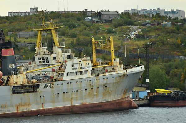 Murmansk Murmansk harbour, Russia