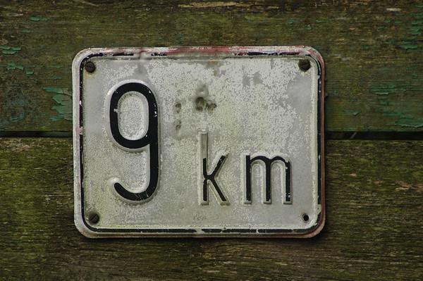 9 km/h speed limit