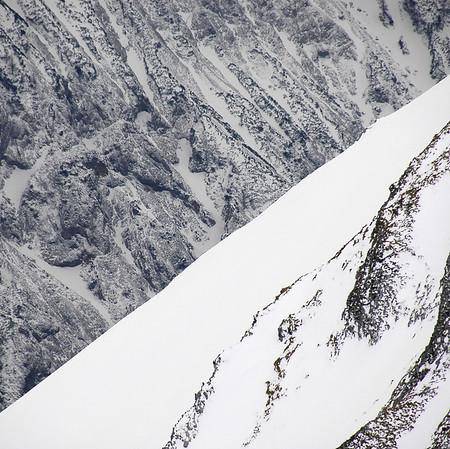 Patterns, 2004  Winter slopes of Mt. Hochschwab