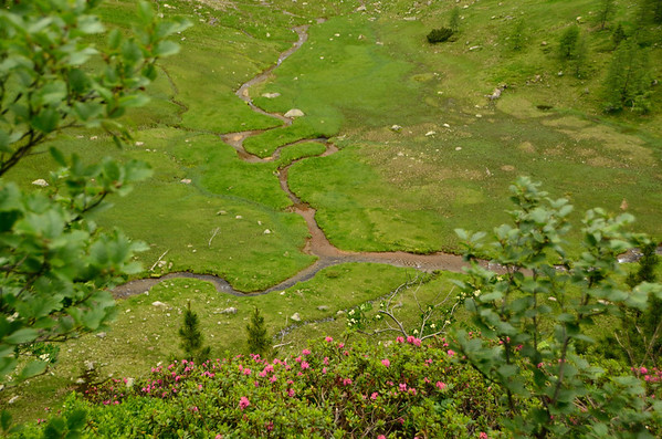 Lessachtal up to lake Gralati