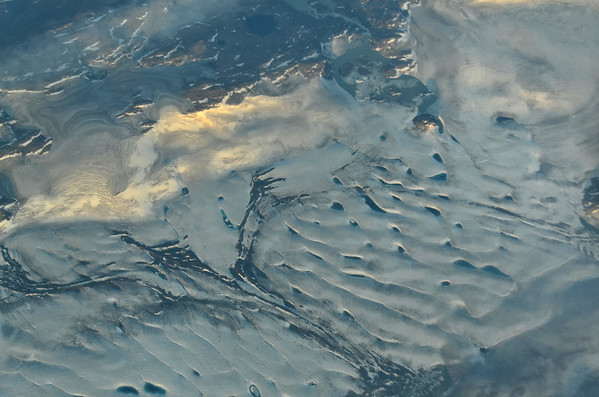 Cumberland Peninsula, Inland ice, Baffin Island, Canada;