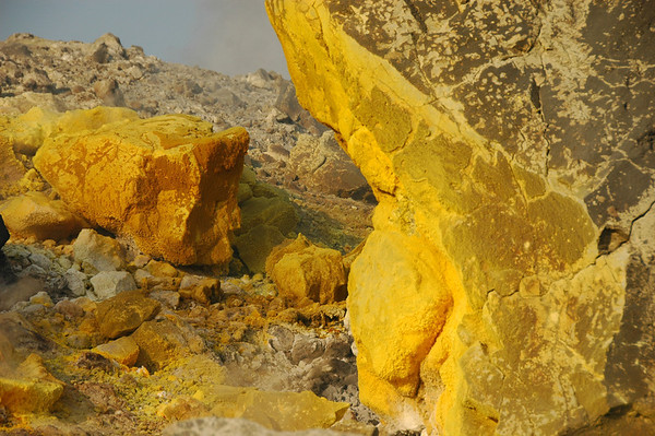 Sulfur rocks, Vulcano Island