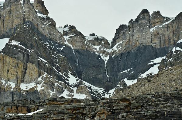 Mt. Huber, 3368m, Lake O'Hara, Yoho NP, British Columbia, Canada