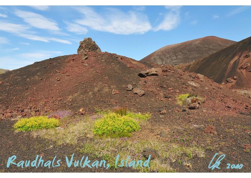 Raudhals volcano