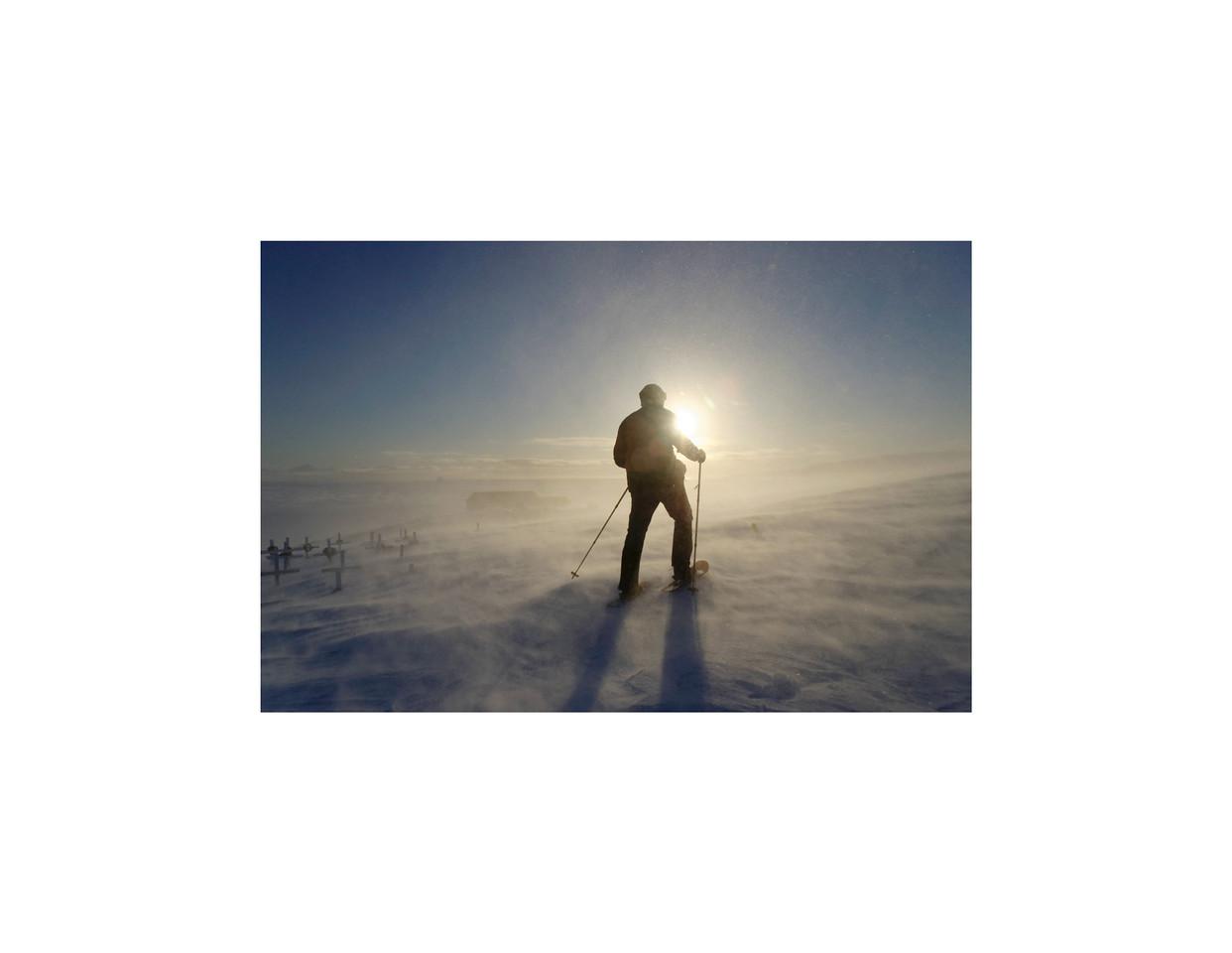 Winter in Northeast Greenland