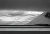 Outlet glacier with melt water channels, NE-coast of Wiener Neustadt Island