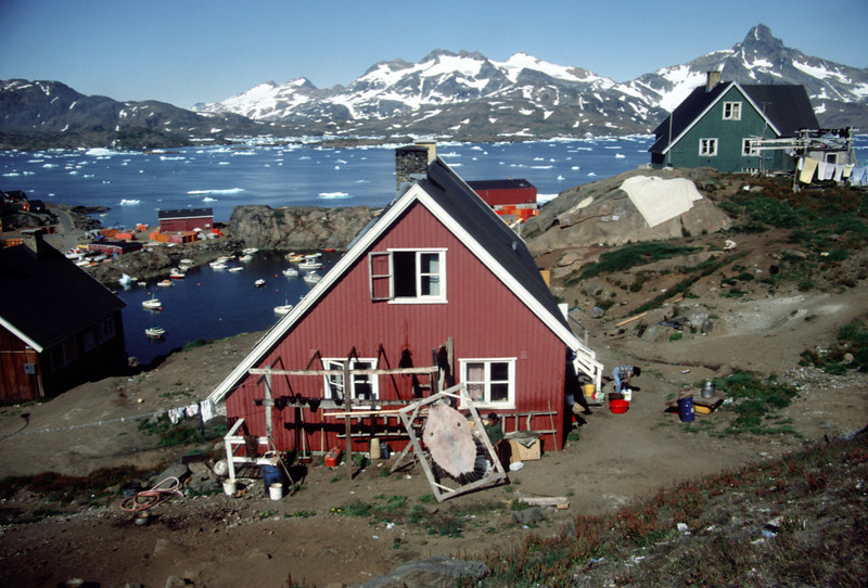 Daily life at Tasiilaq, East Greenland
