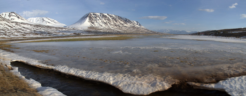 Tröllaskagi in March, Iceland