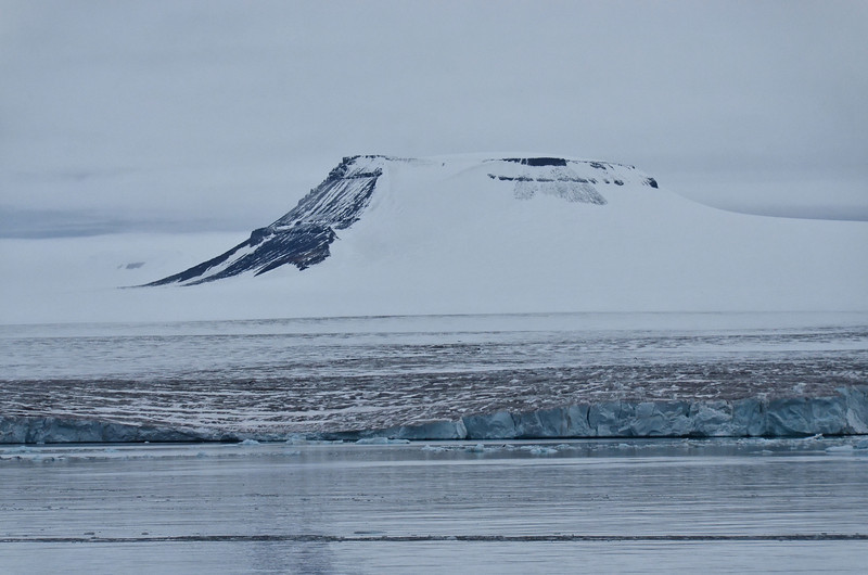 Table mountain, east of Cape Triest, Champ Island, Franz Josef Land