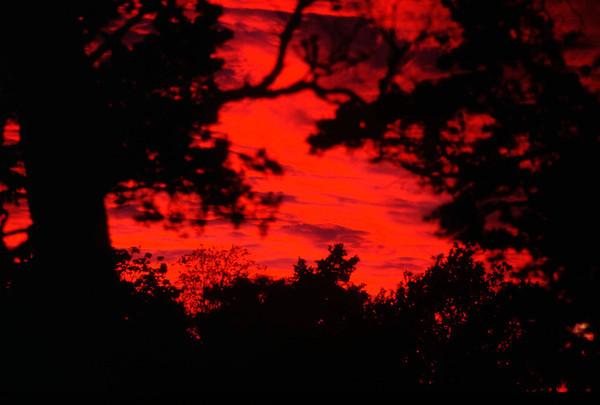 Sunset over Horsvärn