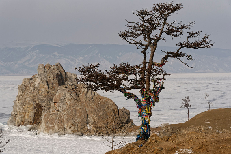 Kuzhir Shaman Rock - winter life in a Wild East Siberian village