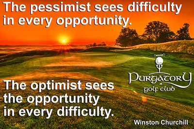 """This sums up golf. Is this difficult shot worth the risk? The answer is often a resounding """"Yes!"""""""