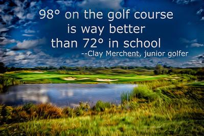 The 12th hole at Purgatory Golf Club.