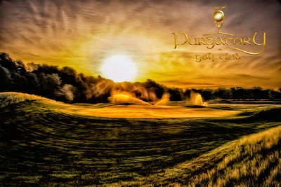 """The third hole at dawn. It makes me feel like the song """"I'm alright"""" by Kenny Loggins should be playing."""