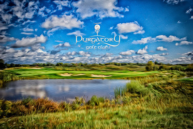 A magical rendition of the 12th hole at Purgatory Golf Club.