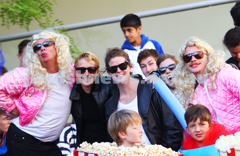 17-3-14. Purim at Bialik College. Photo: Peter Haskin