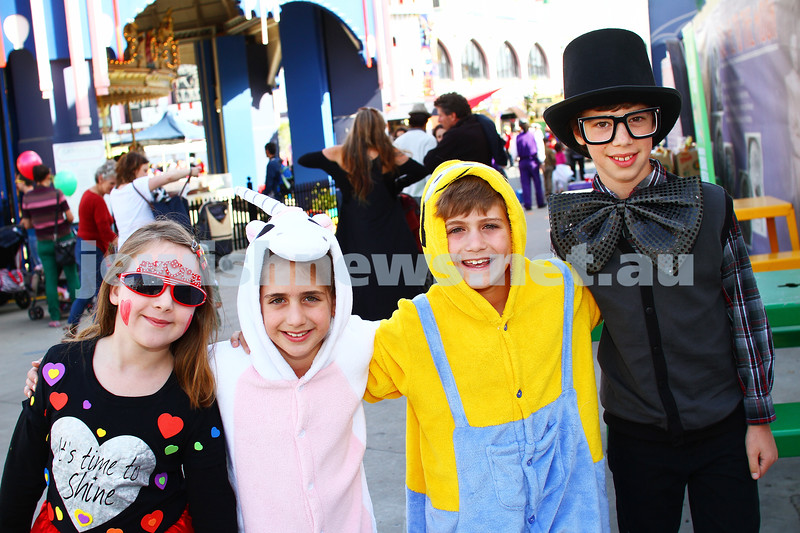 5-3-15. Purim 2015. Hamerkaz Centre at Luna Park. Photo: Peter Haskin