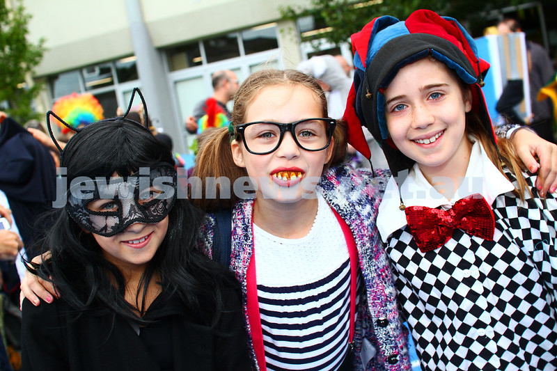 5-3-15. Purim 2015. Sholem Aleichem College. Photo: Peter Haskin