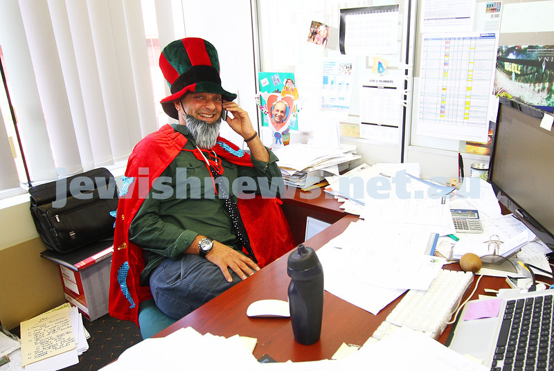 "5-3-15. Purim 2015. Australian  Jewish News. Gary ""The Wiz"" Marks."