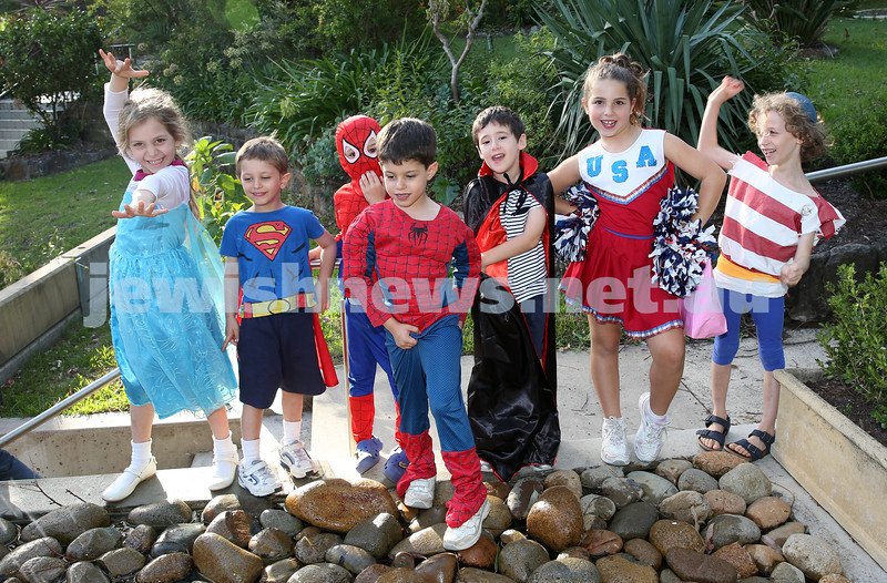 North Shore Syanagogue's Purim Party.
