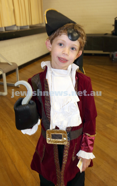 North Shore Syanagogue's Purim Party. Jayden Brandon.