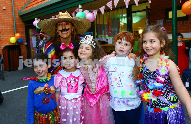 Purim 2016. Mt Scopus, FKI campus. Photo: Peter Haskin