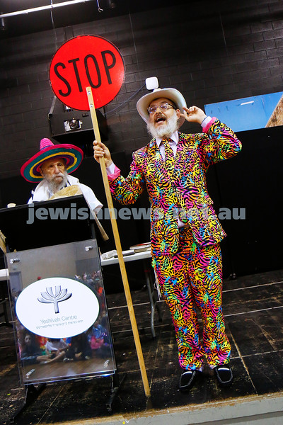 1-3-18. Purim around the schools of Melbourne. Beth Rivkah. Photo: Peter Haskin