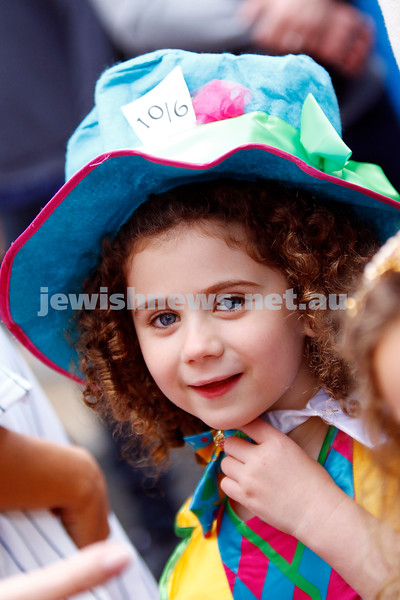 1-3-18. Purim around the schools of Melbourne. Mount Scopus, FKI campus. Photo: Peter Haskin
