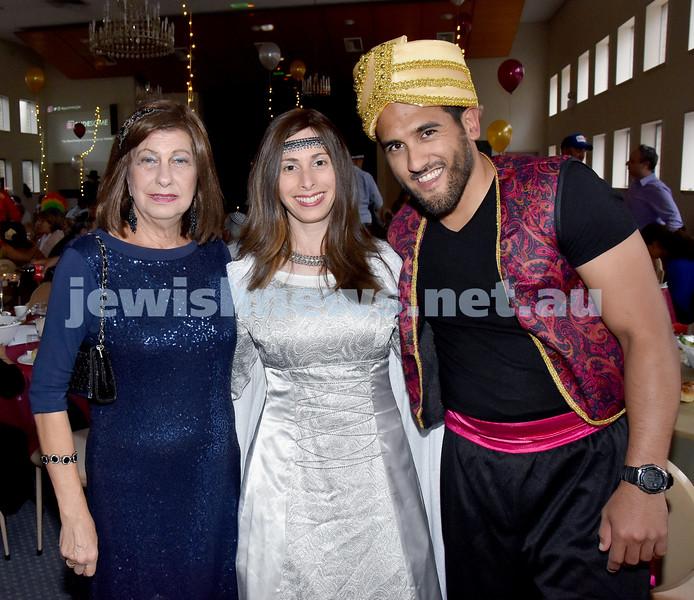 Purim at Sephardi Synagoge. Pic Noel Kessel