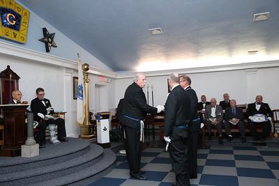 Puritan Lodge 2018 - 2019 Officers Installation