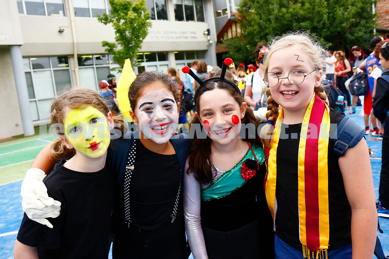 10-3-17. Purim. Sholem Aleichem College. Photo: Peter Haskin