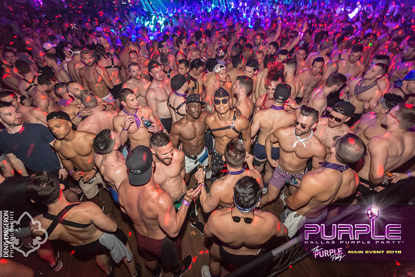 THE PURPLE PARTY   Main Event 2018