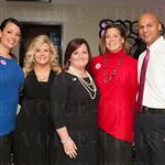 Treva Masters, Terri Albert, Roxanne Geiger, Mary Beth Hewett and Dustin Johnson.