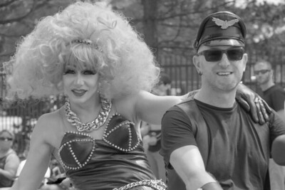 Happy Couple at Pride Parade Halifax