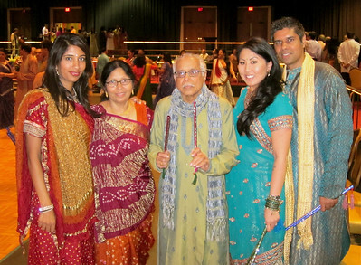 The Shahs.  Dad is ready for some raas.