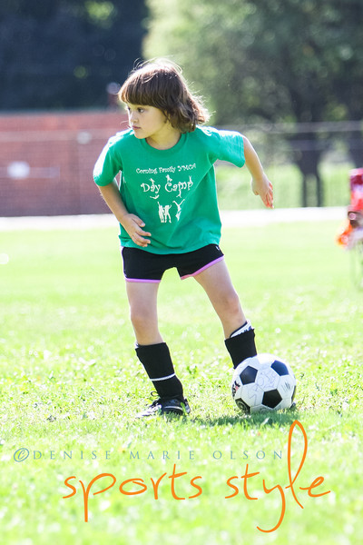 September 15, 2012 - YMCA Youth Soccer 6-8 yr olds