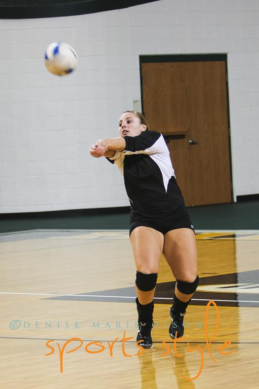 2012 - West Liberty University Volleyball vs Charleston U