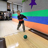 Putnam Street Lanes in Fitchburg has only candlepin bowling. Landon Hennessey, 6, of Ashburnham tries his hand at some candlepin bowling on Friday afternoon, January 4, 2019. SENTINEL & ENTERPRISE/JOHN LOVE